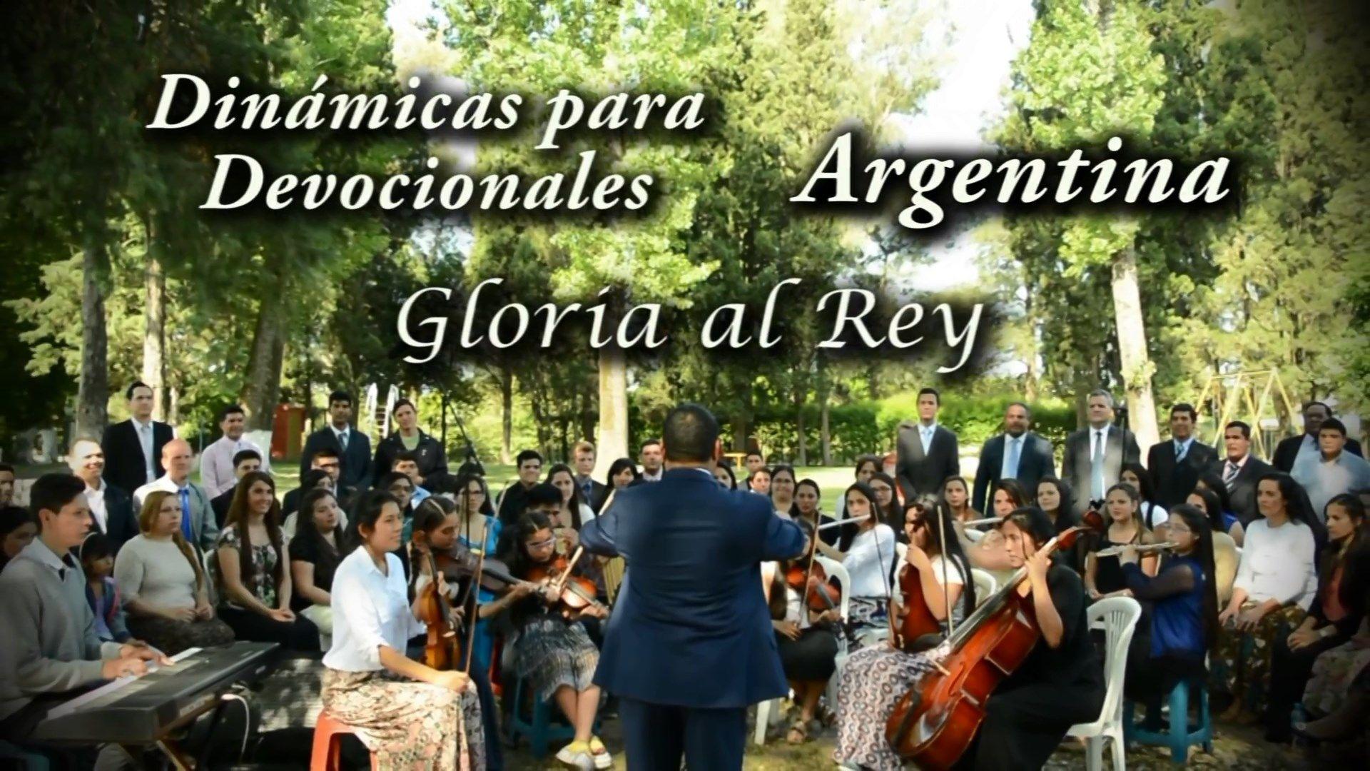 Gloria al Rey – Dinámicas para Devocionales – Argentina