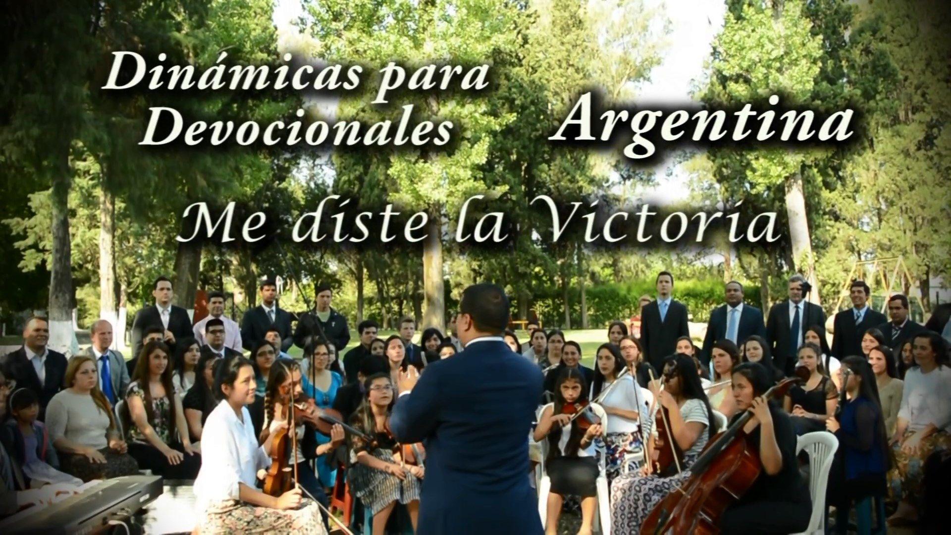 Me diste la Victoria – Dinámicas para Devocionales – Argentina